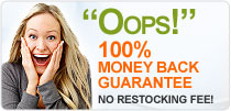 100% Money Back Gurantee