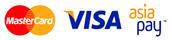 MasterCard Visa AsiaPay PayDollar