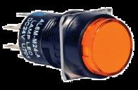 IDEC AL6M-A13-R Red Push Button Switch